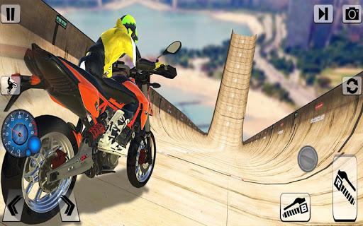 Bike Impossible Tracks Race screenshot 16