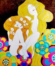 Photo: 《 Hommage of Klimt 》 Gallery Cafe Bar Enyen permanent exhibition 2012 9/3-