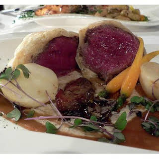 Tenderloin Beef Wellington.