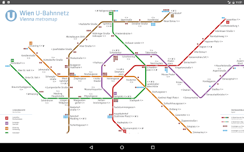 Vienna Metro Map 2017   Apps on Google Play