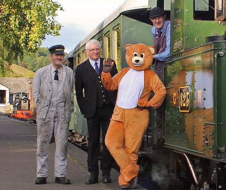 Fun for all on Llanfair train