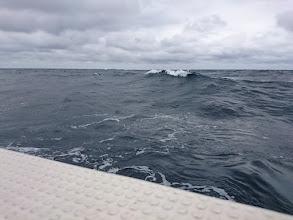Photo: ・・・波はまだ高いです。
