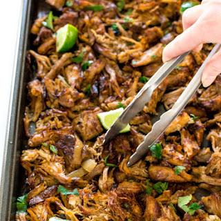 Crispy Slow Cooker Pork Carnitas.