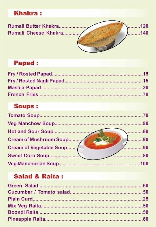 Crazy food menu 4