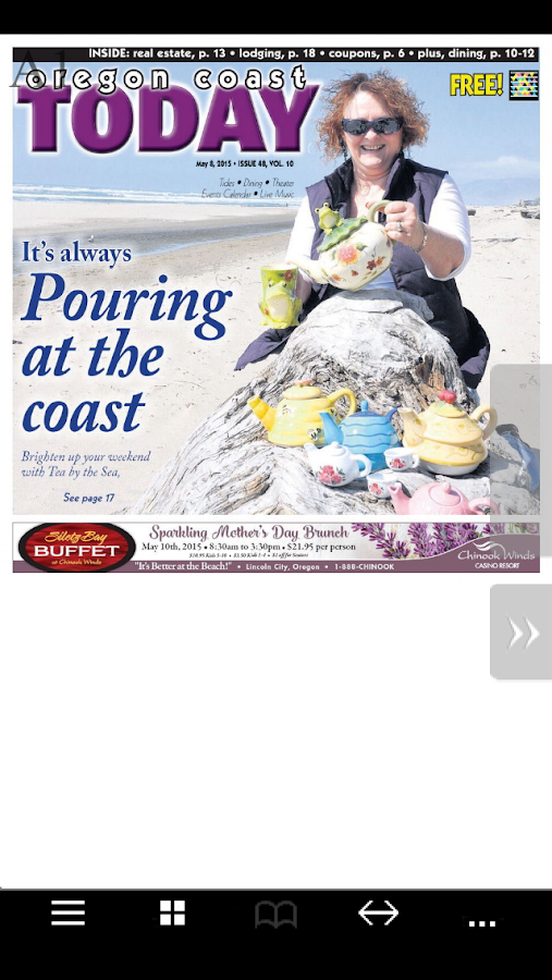 Oregon Coast Today e-Edition- screenshot