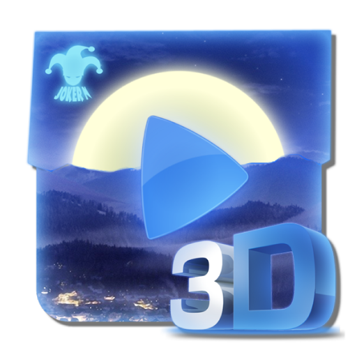 音乐のMp3 Player NightSky 3D LOGO-記事Game