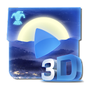 Mp3 Player 3D : NightSky icon