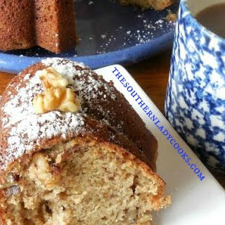 SOUR CREAM BANANA BUNDT CAKE