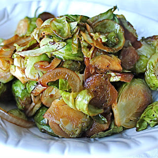 Soy Glazed Brussels Sprouts