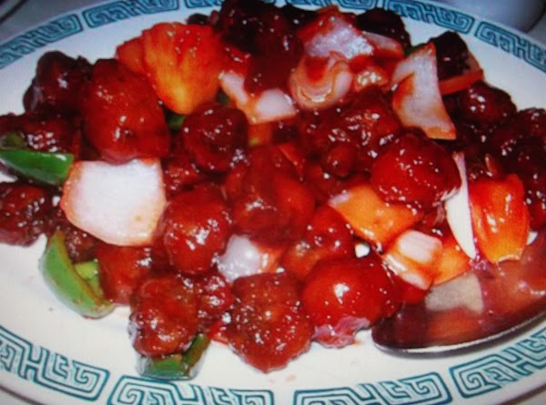 Chinese Dinner ( Sweet And Sour Pork ) Recipe