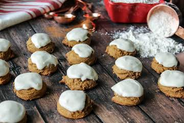 Snowdrift Molasses Cookies
