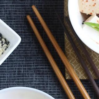 Korean Chili Chilled Tofu Recipe
