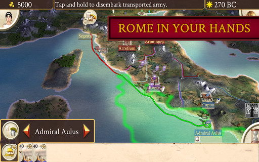 Screenshot for ROME: Total War in United States Play Store