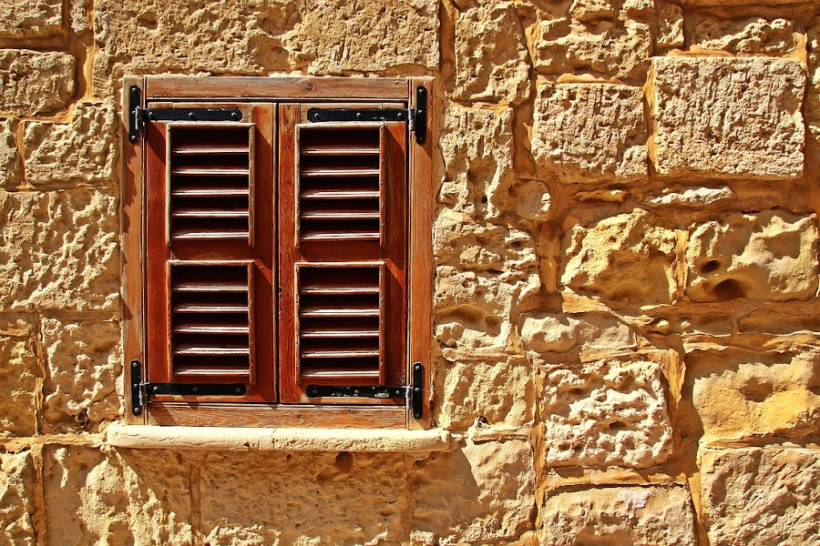 The small window by Francis Xavier Camilleri - Buildings & Architecture Architectural Detail ( louvre, window, malta, texture, mdina, light, wall )