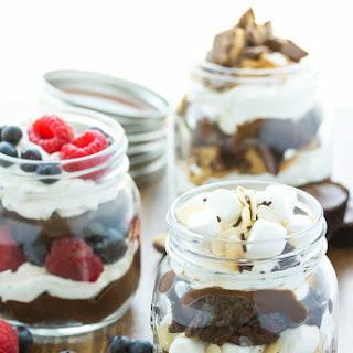 No-Bake Brownie Trifle 3 Ways