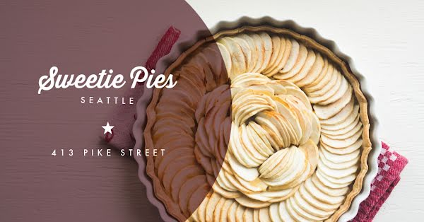 Sweetie Pies - Facebook Event Cover Template