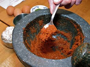Photo: finished chilli paste