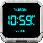 Digital Clock Live Wallpaper