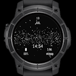 Star Particles watch face for Android wear Icon