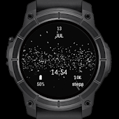 Star Particles watch face for Android wear