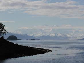 Photo: Fairweather Range from Elfin Cove