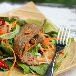 Tenina's Asian Beef Salad.