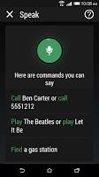 screenshot of HTC Speak Pack-EL