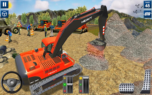 Heavy Excavator Simulator 2020: 3D Excavator Games filehippodl screenshot 1