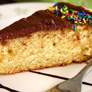 Eggless Yellow Cake.