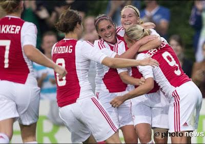 Le joli lob de cette joueuse de l'Ajax