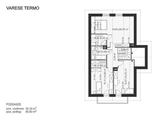 Varese Termo - Rzut poddasza