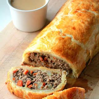 Minced Beef Wellington.