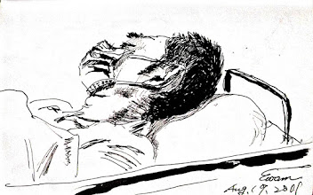 Photo: 吸毒的代價2011.08.17鋼筆 在急診室裡,醫生問我們的客戶: 有沒有特殊疾病? 有…H.... 那為什麼會得這病? 因為吸毒共用針頭…