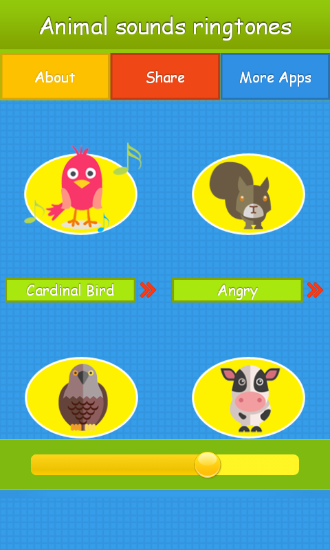 Animal Sounds Ringtones- screenshot