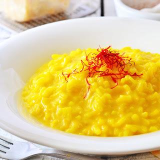 Risotto Milanese (Italian Saffron Risotto) Recipe