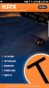 NTTA Tollmate®- screenshot thumbnail