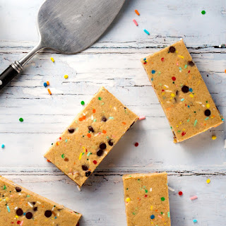 Dairy-Free Cake Batter Protein Bars