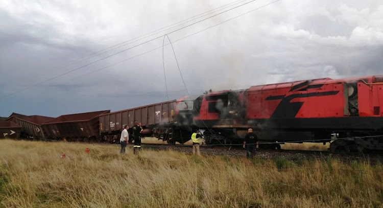 Six injured as freight and passenger trains collide in North West