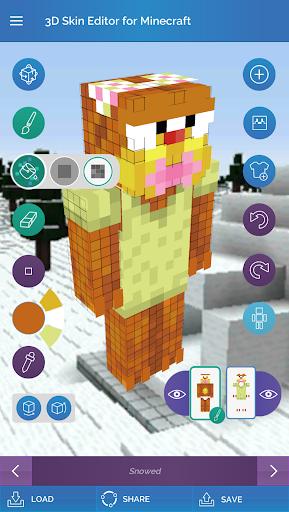 QB9's 3D Skin Editor for Minecraft 2.1.0 screenshots 16