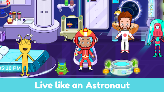 Tizi World: My Play Town, Dollhouse Games for Kids 6.0 APK + Mod (Unlocked) for Android