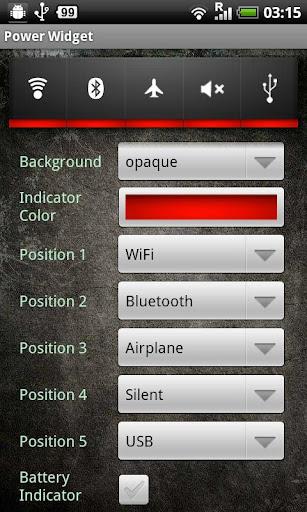 Free Power Widget screenshot 4