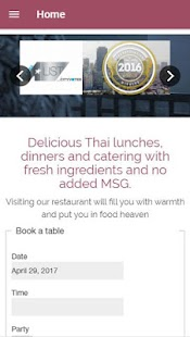My Thai Restaurant- screenshot thumbnail
