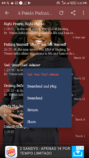 Dr  Cindy Trimm Daily    Atomic Warfare Prayer App Report on Mobile