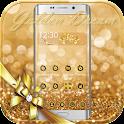Tema sueño dorado gold halo icon