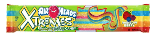 Airheads Xtremes Sour Candy as...