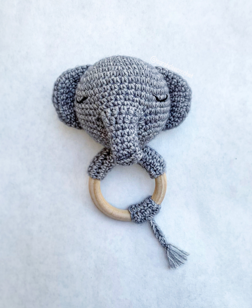 Crochet Elephant Comforter Amigurumi Project: British Wool | TOFT | 1305x1067