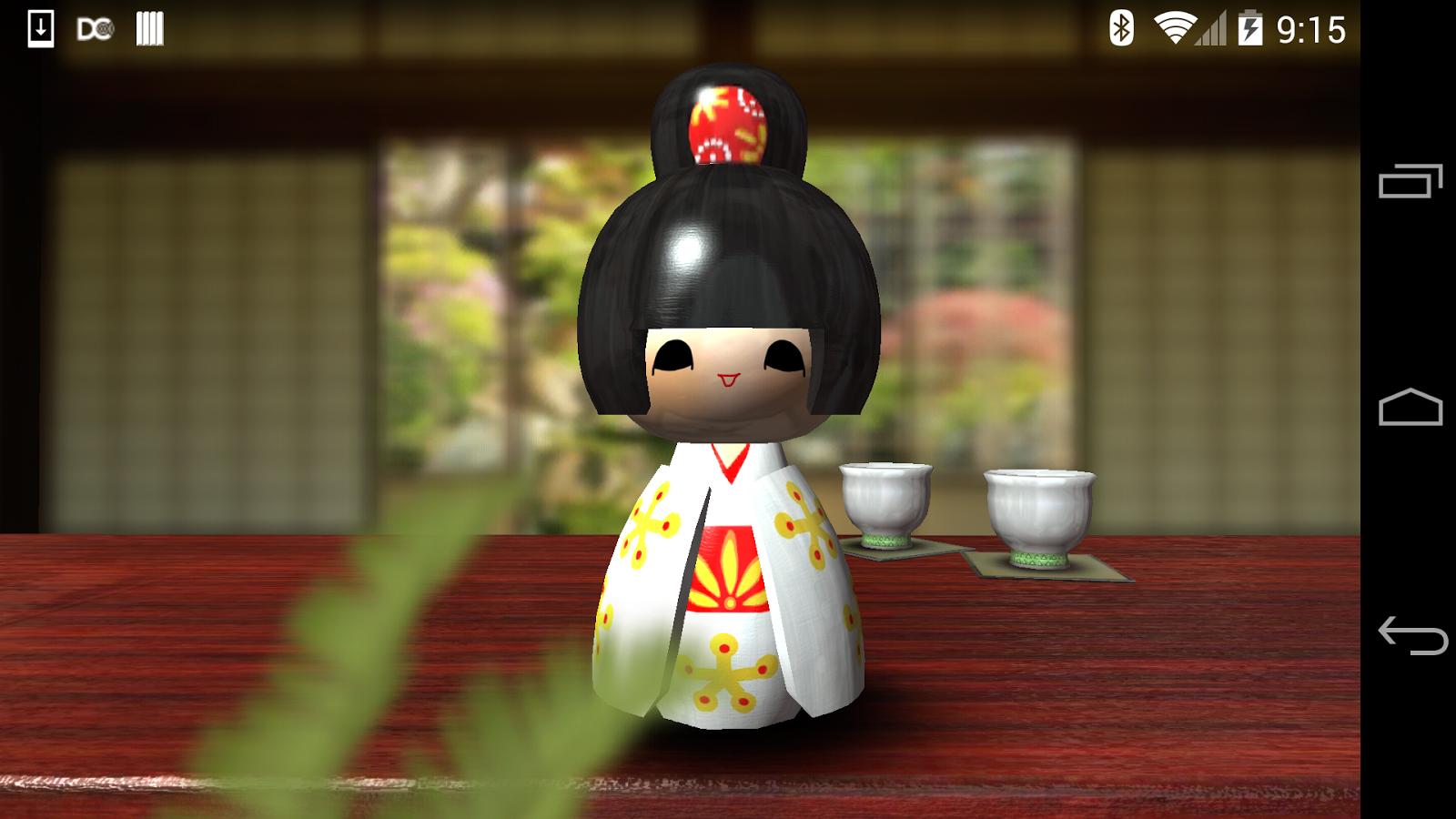 Japanese Geisha Doll 3d Live Wallpaper Japanese Geisha Doll 3d Android Apps On Google Play