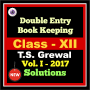 Account Class-12 Solutions (TS Grewal Vol-1) 2017