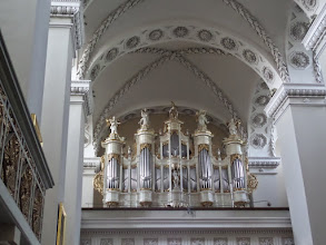 Photo: The exterior of the cathedral was unusual, but the interior was lovely.
