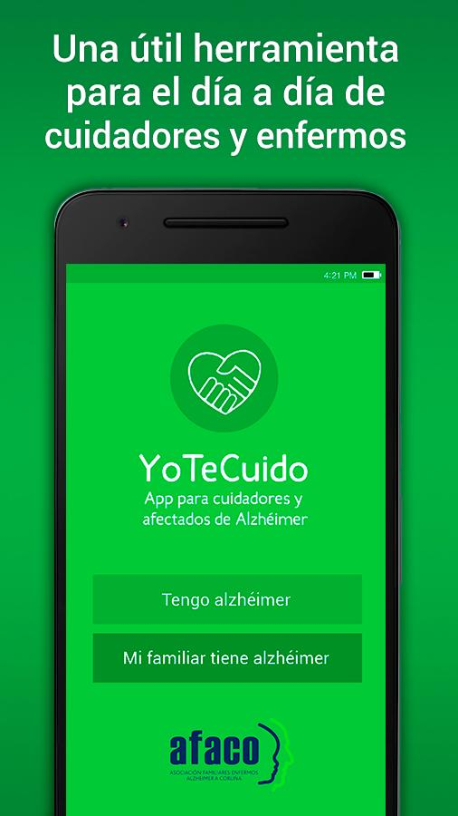 YoTeCuido Alzheimer- screenshot